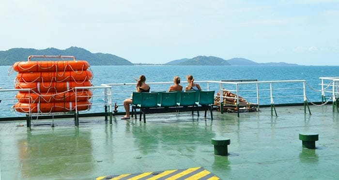Options for Travel from Koh Samui to Koh Phi Phi