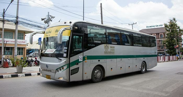 Pai to Chiang Rai by Bus