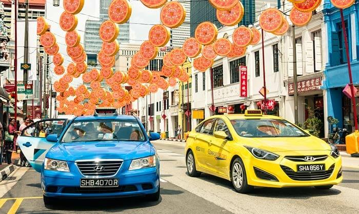 シンガポールからマラッカへのタクシー