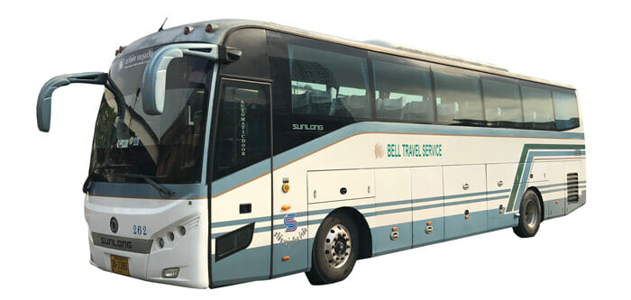 Suvarnabhumi Airport to Pattaya by Bell bus