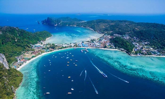 アオナンからピピ島への旅行選択肢