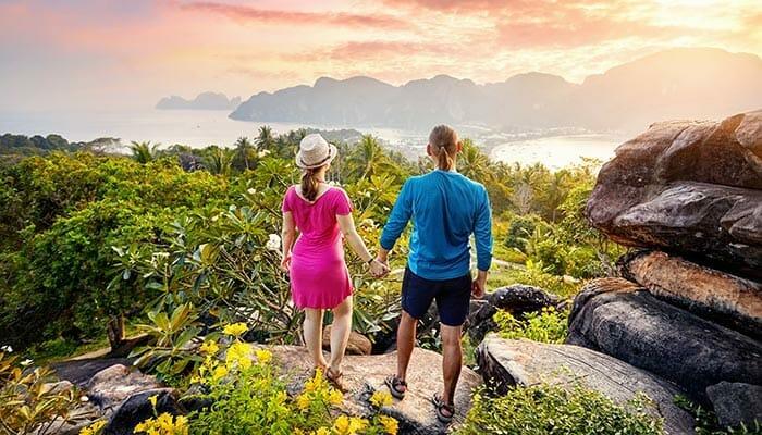 パンガン島からピピ島への旅行選択肢