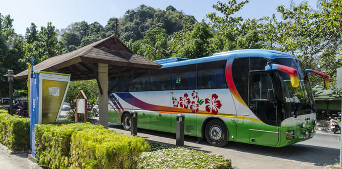 Krabi to Khao Sok by Bus