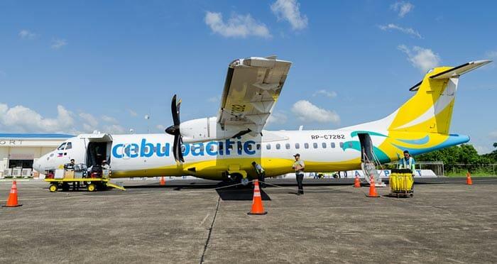 Flight from Manila to Boracay