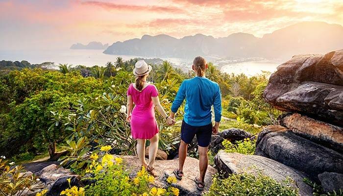 ピピ島からランタ島への旅行選択肢