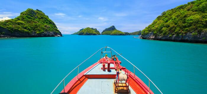 パンガン島からバンコクへの旅行選択肢