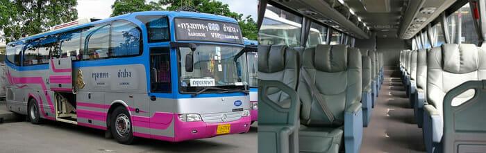 バスでプーケットからバンコクへ
