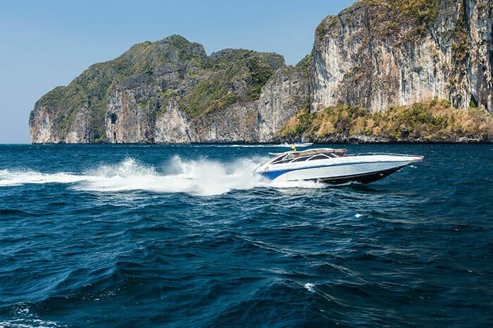 スピードボートでパンガン島からサムイ島へ