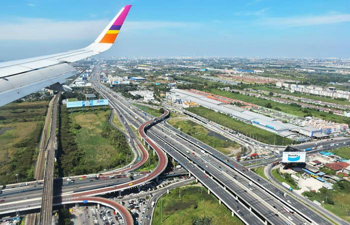スワンナプーム空港からバンコクまでの旅行選択肢