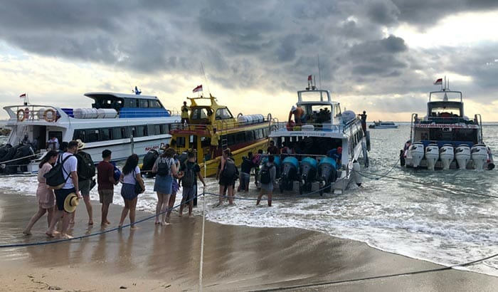 Bali to Nusa Penida by Boat