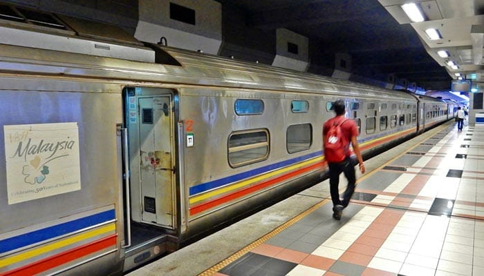 Johor Bahru to Singapore by Train