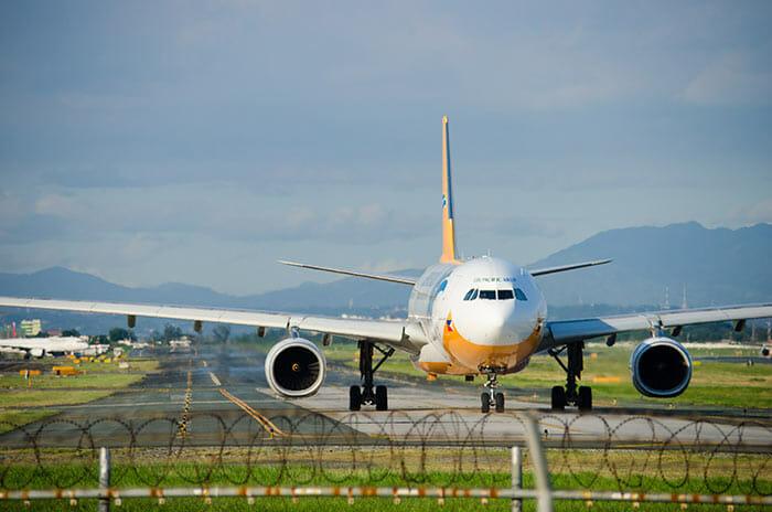 Flight from Manila to El Nido