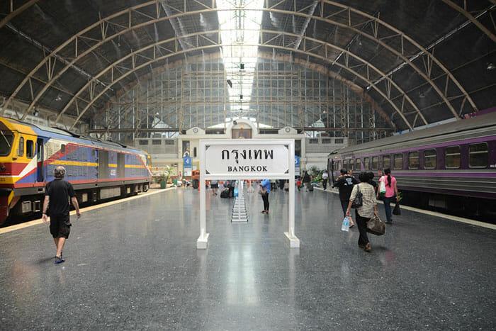 Путешествие из Бангкока на Пхукет на поезде