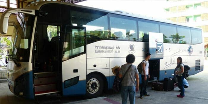 Путешествие из Бангкока в Хуахин на автобусе