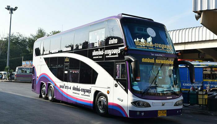 Автобусы из Бангкока в Канчанабури