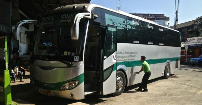Автобусы из Чиангмая в Чианграй