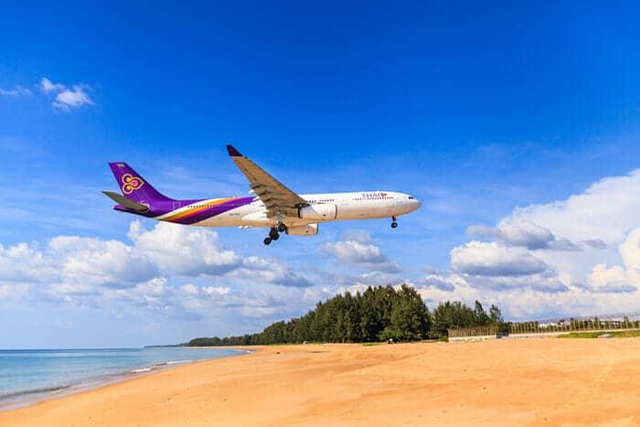 Авиарейсы из Бангкока на Пхукет
