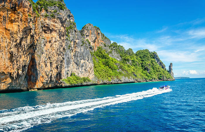 From Phuket to Koh Phi Phi