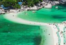С острова Пханган на остров Тао