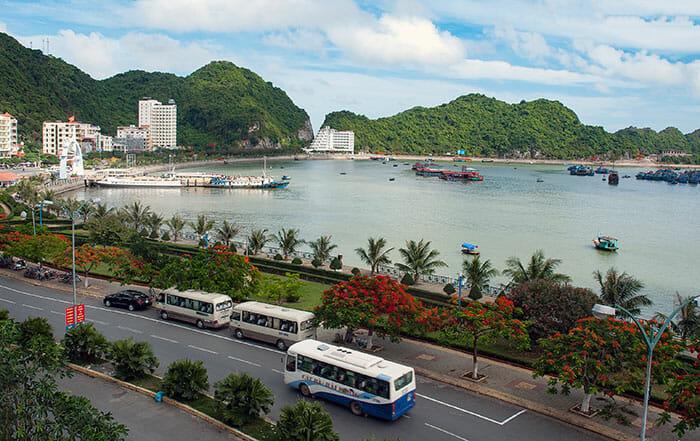 하노이에서 하롱베이로 가는 패키지 투어