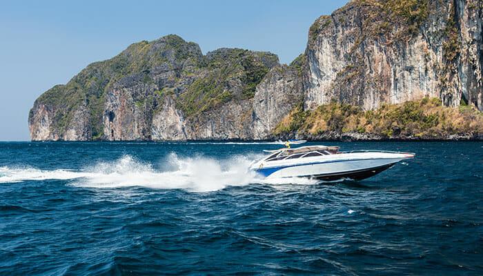 Скоростные лодки с острова Самуи на остров Пханган