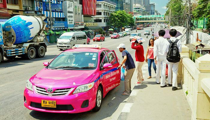 Такси или частный микроавтобус на остров Самет из Бангкока