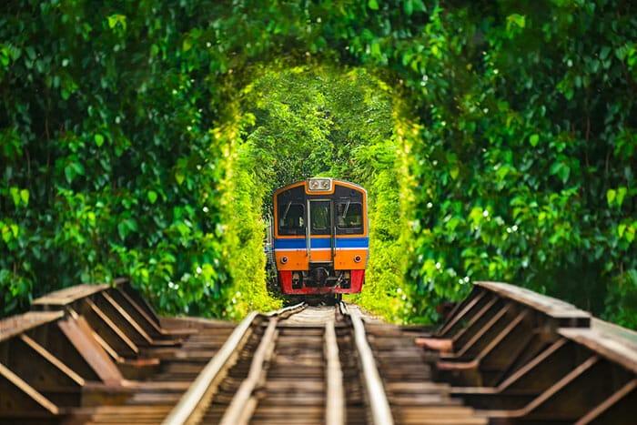 Поезда из Бангкока в Чиангмай