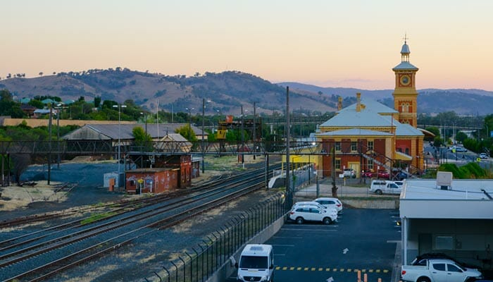 Albury to Canberra by Train