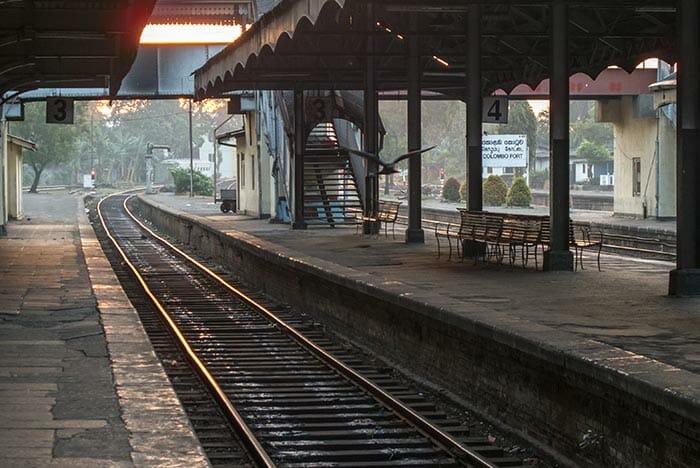 Поезд из Коломбо в Канди
