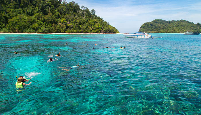 Diving and Snorkeling on Koh Lanta