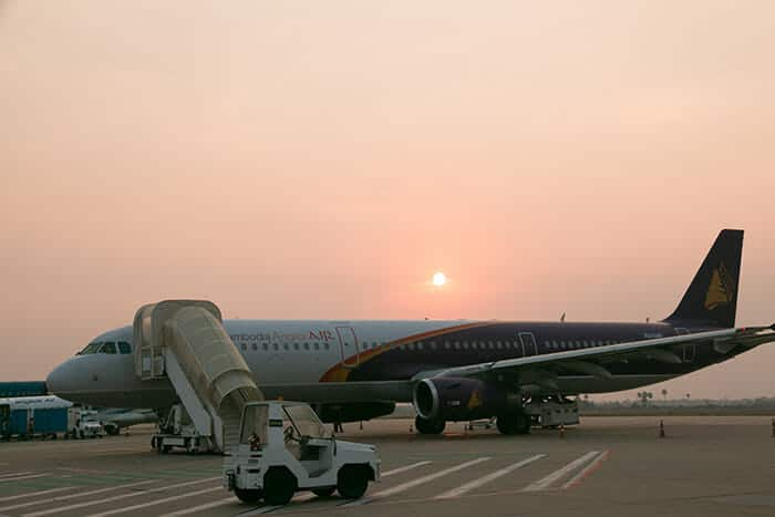 Авиарейсы в Сиемреап из Пномпеня