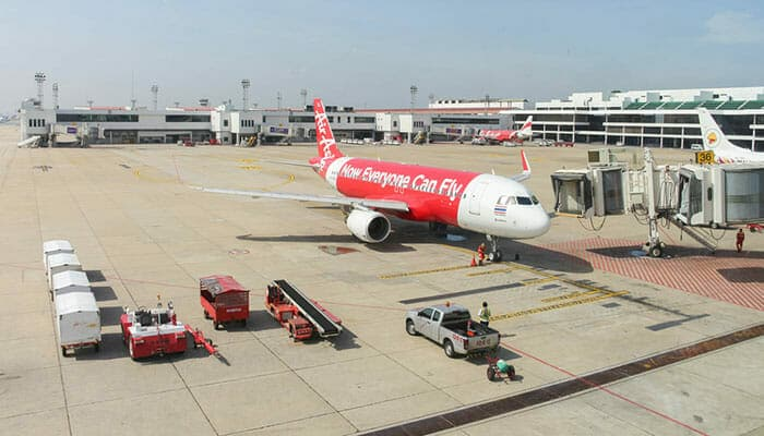 Flights from Penang to Bangkok