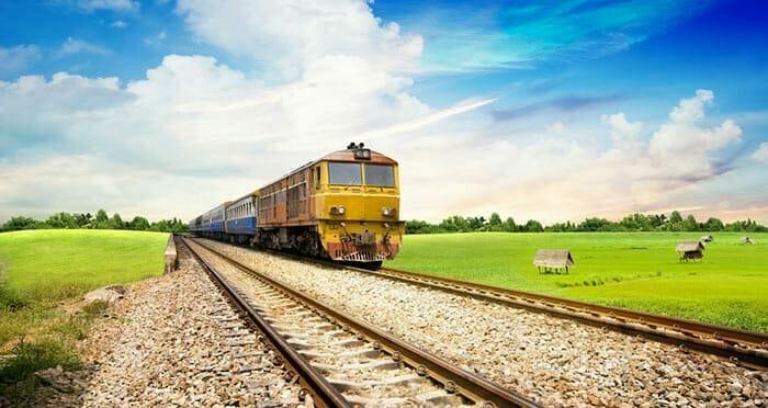 From Bangkok to Surat Thani, Train