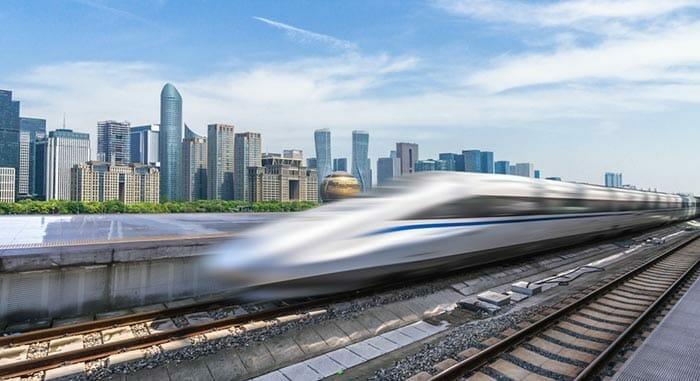 태국의 초고속 기차