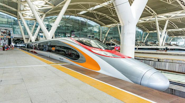 電車で香港から広州へ
