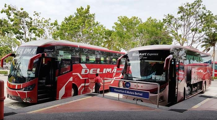 都市間バスサービス