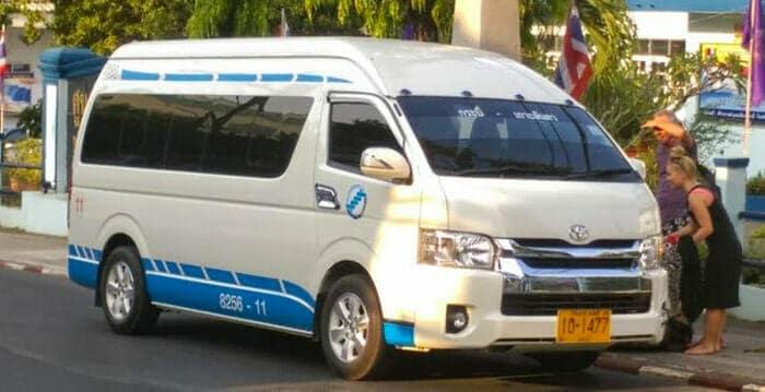 Микроавтобус из Краби на Пхукет