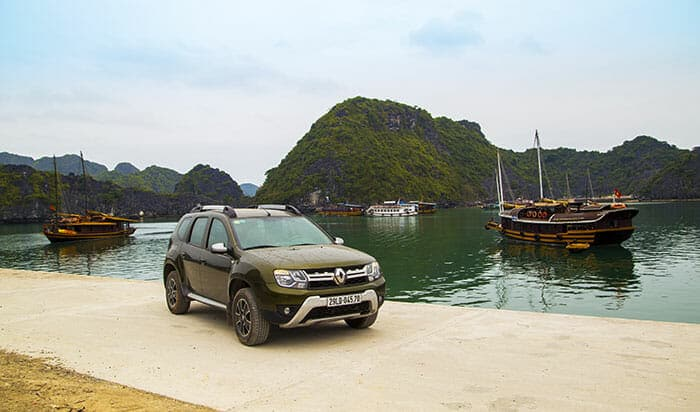 Из Ханоя в бухту Халонг на частном авто