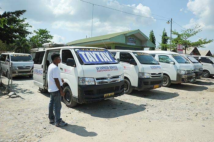 Микроавтобус из Пуэрто-Принцессы в Эль Нидо