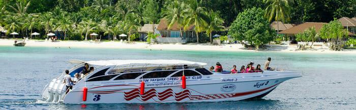 Скоростная лодка с Пхукета на Ланту