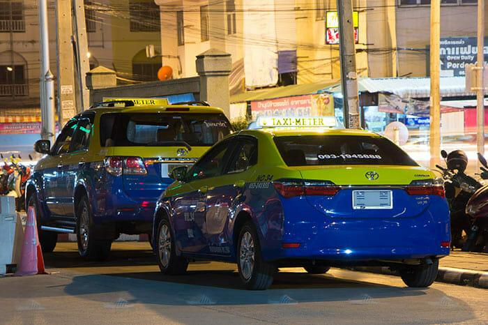 Дорогой способ - такси из Чиангмая в Пай