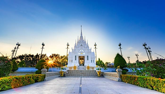 Temples of Surat Thani