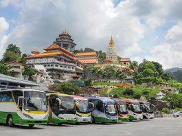 バスでマレーシアに旅行する