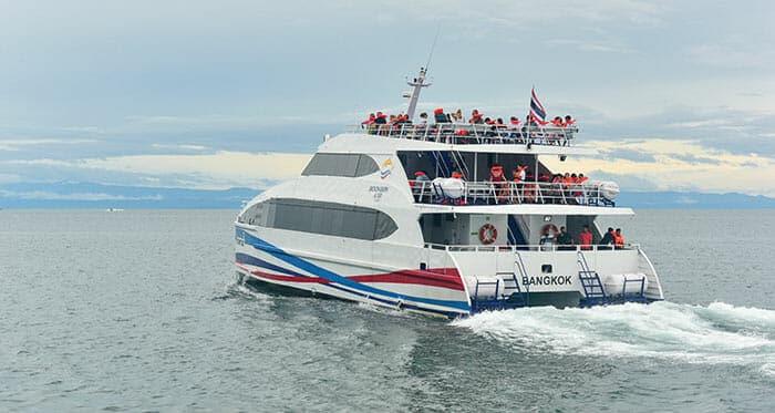 페리로 태국 여행, 안전한가요?