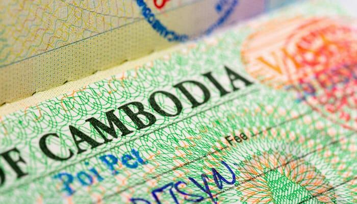Информация о камбоджийской визе