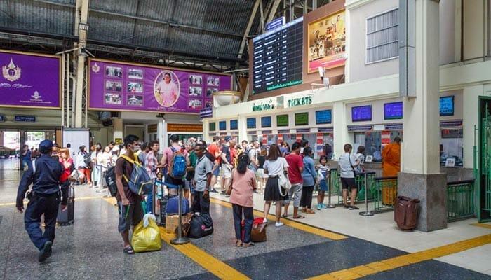 Где купить билеты на поезд в Таиланде
