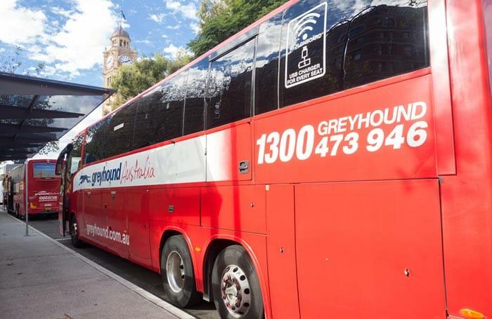 バスでオルベリーからキャンベラへ