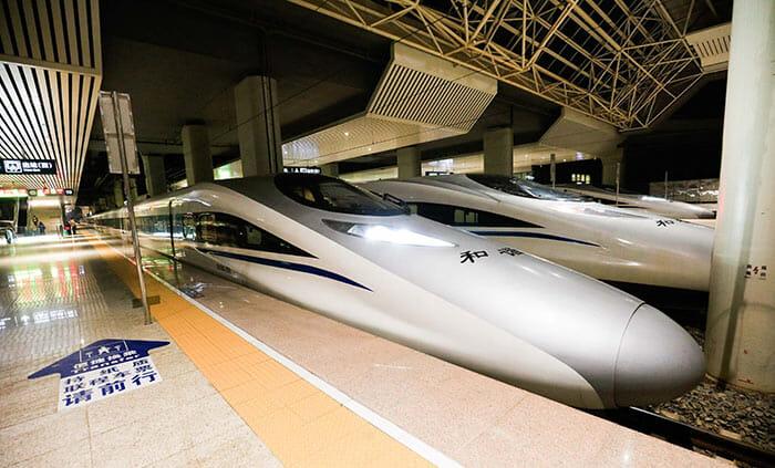 Из Пекина в Шанхай на поезде