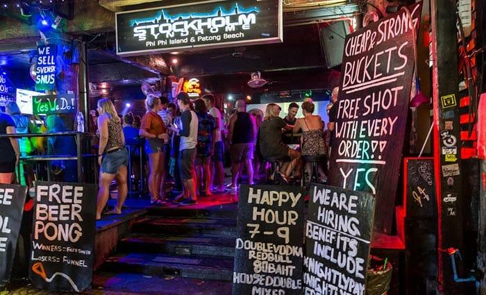 Лучшие бары на Пхипхи