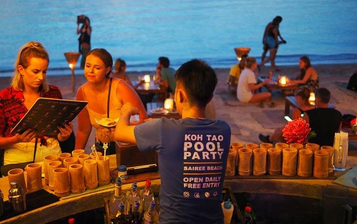 Лучшие бары и рестораны на Тао